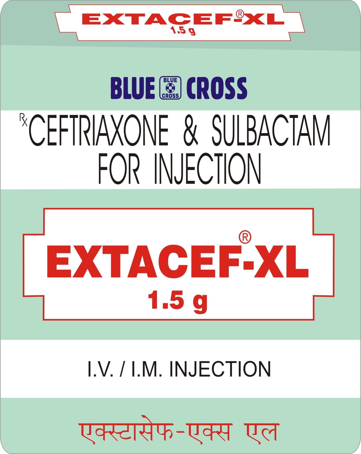 Extacef XL Inj